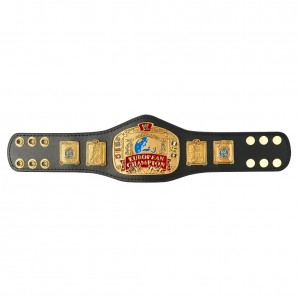 WWE European Championship Mini Replica Title