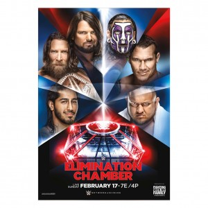 WWE Elimination Chamber 2019 Poster
