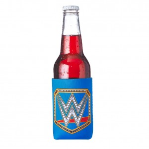 WWE Women's Championship Title Reversible Bottle & Can Cooler