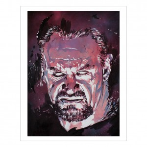 Undertaker 11 x 14 Rob Schamberger Art Print