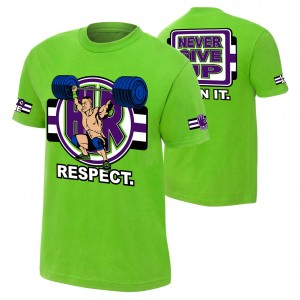 "John Cena ""Cenation Respect"" Authentic T-Shirt"