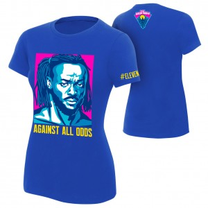 "Kofi Kingston ""Against All Odds"" Women's Authentic T-Shirt"