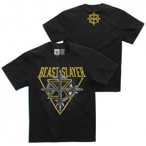 """Seth Rollins """"BeastSlayer"""" Youth Authentic T-Shirt"""