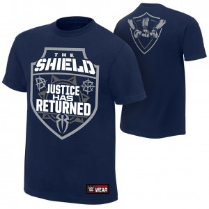 """The Shield """"Justice Has Returned"""" Authentic T-Shirt"""