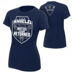 "The Shield ""Justice Has Returned"" Women's Authentic T-Shirt"