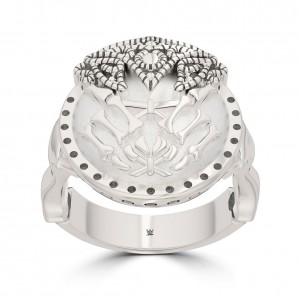 Alexa Bliss Bixler Stackable Ring in Sterling Silver