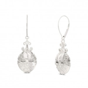 Asuka Bixler Drop Earrings in Sterling Silver