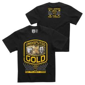 """Undisputed Era """"Undisputed Gold"""" Youth Authentic T-Shirt"""