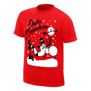 "Randy Orton ""Outta Snowhere"" Holiday T-Shirt"