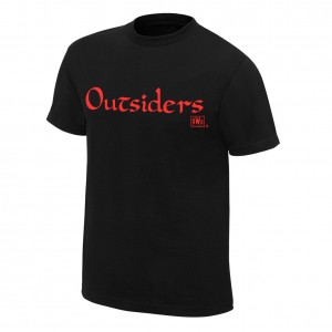 "nWo Wolfpac ""Outsiders"" Retro T-Shirt"