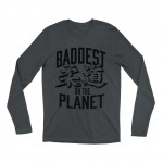 "Ronda Rousey ""Baddest on the Planet"" Long Sleeve T-Shirt"