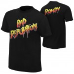 "Ronda Rousey ""Bad Reputation"" Authentic T-Shirt"