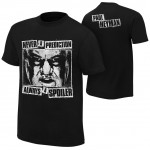 "Paul Heyman ""Never A Prediction"" Authentic T-Shirt"