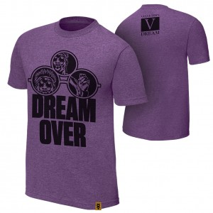 "Velveteen Dream ""Dream Over"" Authentic T-Shirt"