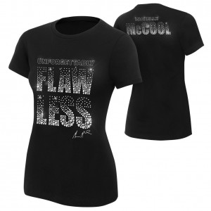 "Michelle McCool ""Unforgettably Flawless"" Women's Authentic T-Shirt"