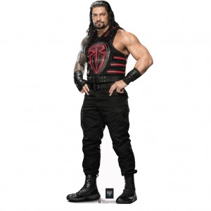 Roman Reigns Black & Red Vest Standee