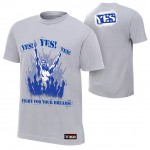 "Daniel Bryan ""Fight For Your Dreams"" Authentic T-Shirt"