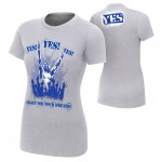 "Daniel Bryan ""Fight For Your Dreams"" Women's Authentic T-Shirt"