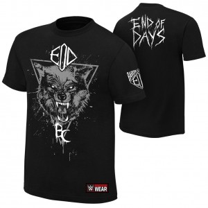"""Baron Corbin """"End of Days"""" Youth Authentic T-Shirt"""