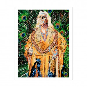 Ric Flair Rob Schamberger 11 x 14 Art Print