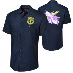 "Breezango ""Chic & Destroy"" Work Shirt"