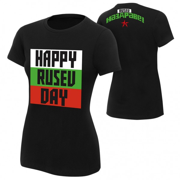 "Rusev ""Happy Rusev Day"" Women's Authentic T-Shirt"