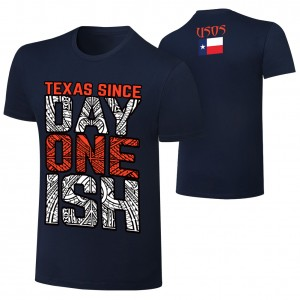 "The Usos ""Since Day One"" Texas Edition T-Shirt"