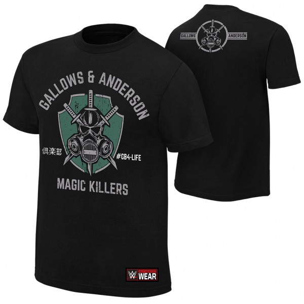 """Gallows & Anderson """"Magic Killers"""" Authentic T-Shirt"""