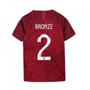England Away Stadium Shirt 2019-20 - Kids with Bronze 2 printing