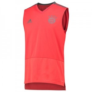 FC Bayern Training Sleeveless Jersey - Red