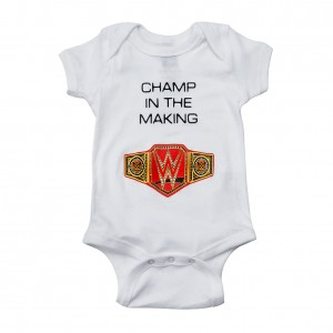 "WWE ""Champ in The Making"" Unisex Onesie Creeper"