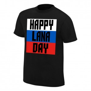"Lana ""Happy Lana Day"" Authentic T-Shirt"