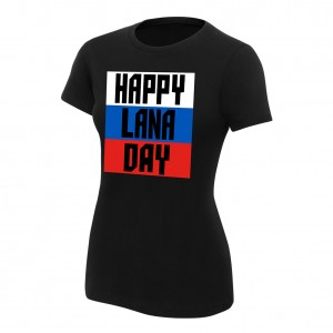 "Lana ""Happy Lana Day"" Women's Authentic T-Shirt"