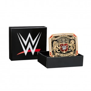 WWE United Kingdom Championship Belt Buckle