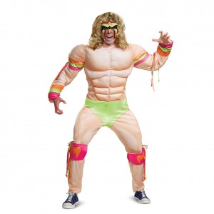 Ultimate Warrior Adult Muscle Costume