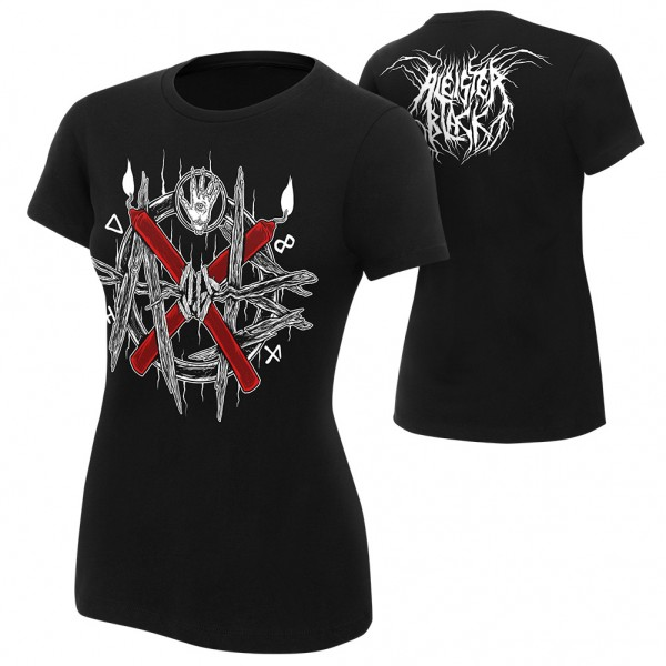 """Aleister Black """"AXB"""" Women's Authentic T-Shirt"""