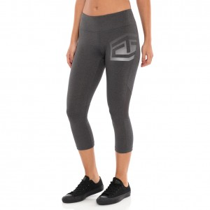 "Tapout ""Headliner"" Charcoal Heather Women's Capris"