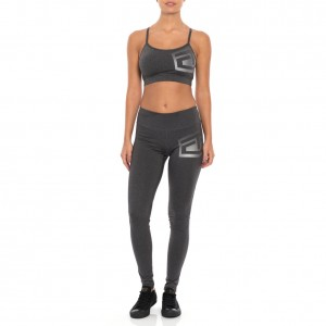 """Tapout """"Headliner"""" Women's Charcoal Heather Leggings"""