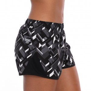 "Tapout ""Prestige"" Dim Grey Women's Running Shorts"