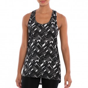 "Tapout ""Circuit Warrior"" Dim Grey Women's Tank Top"