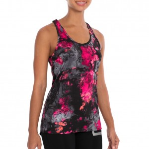 "Tapout ""Cilesi"" Knockout Pink Womens Tank Top"