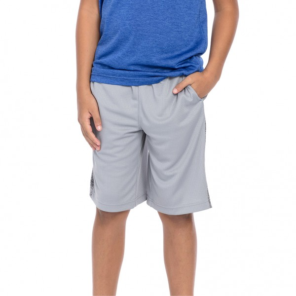 """Tapout """"Court Kings"""" Youth Sleet Grey Shorts"""
