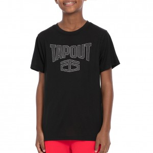 "Tapout ""Cage Match"" Youth Black T-Shirt"