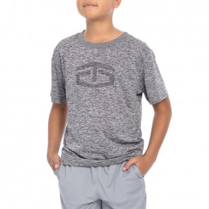 """Tapout """"Power"""" Heather Crewneck Youth T-Shirt"""