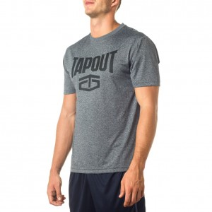 "Tapout Grey Heather ""Wrecking Crew"" T-Shirt"