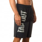 """Tapout """"Battle Tested"""" Black Shorts"""