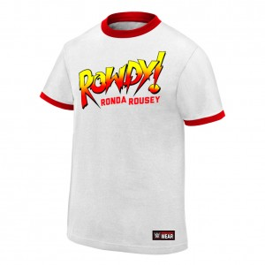 "Ronda Rousey ""Rowdy Ronda Rousey"" Authentic T-Shirt"