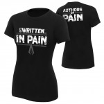 "AOP ""It is Written in Pain"" Women's Authentic T-Shirt"