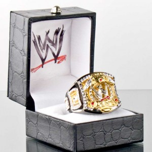 WWE Championship Spinner Women's Ring