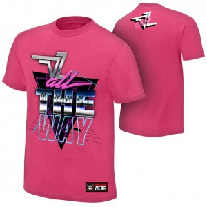 "Dolph Ziggler ""All The Way"" Authentic T-Shirt"